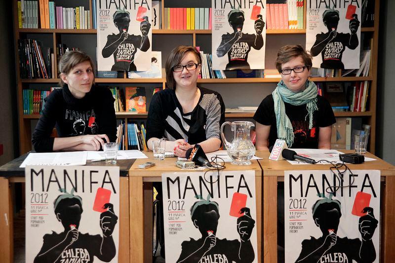 Konferencja prasowa Manify 2012