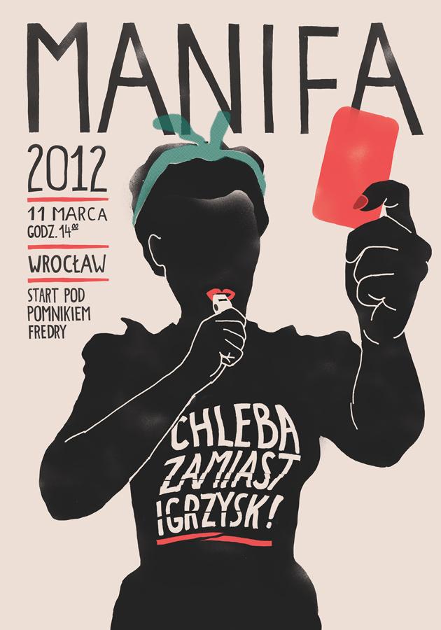 Plakat Manify 2012